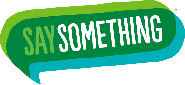 Say Something Anonymous Reporting Logo