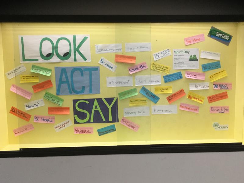 Look Act Say Display