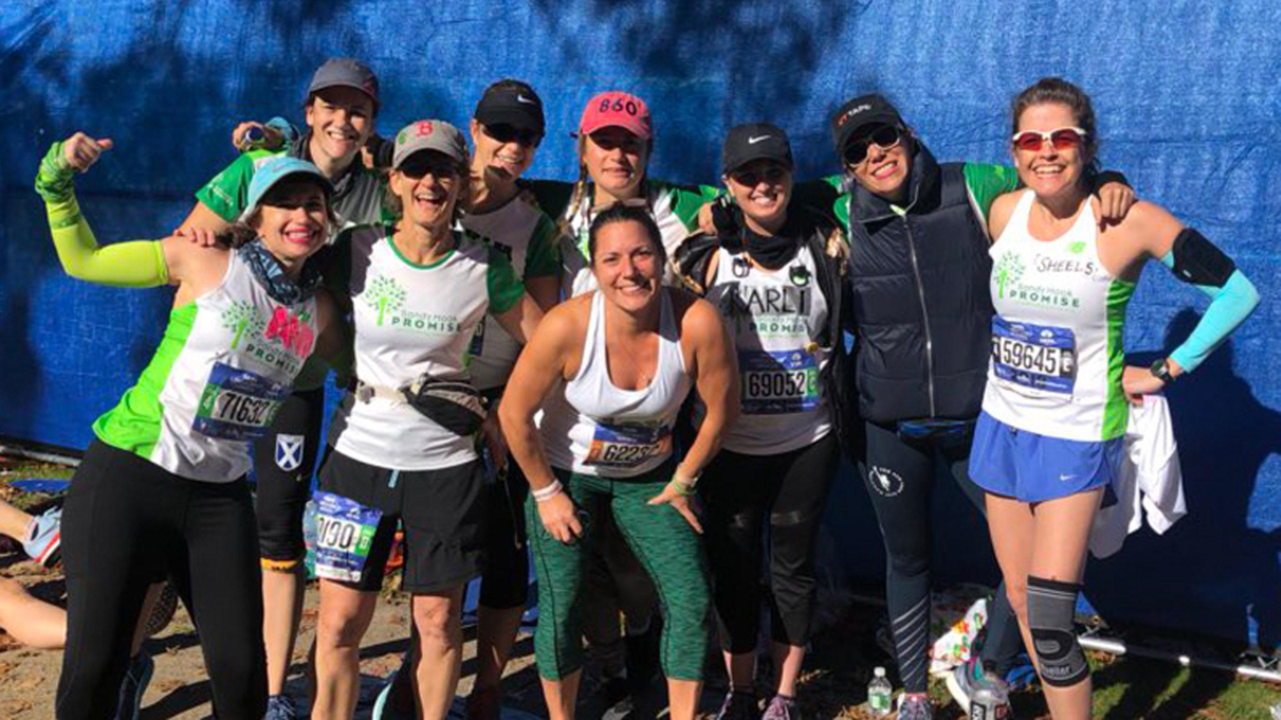 Team Sandy Hook Promise at the NYC Marathon