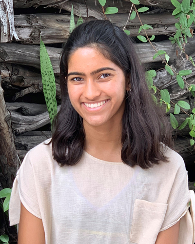 Aashi Mittal, a junior at Del Norte High School in California and National Youth Advisory Board member